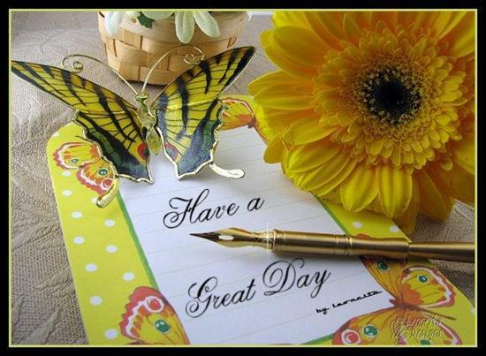 Signature To Have A Nice Day